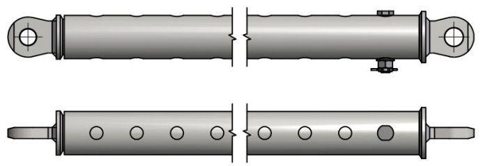 Cięgła transportowe teleskopowe CTT